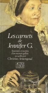 Les carnets de Jennifer G